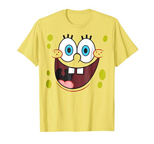 Spongebob Squarepants Bright Eyed Smiling Face T-Shirt ()