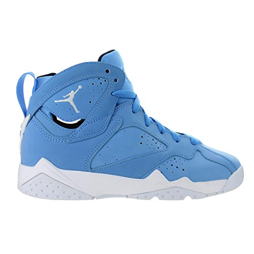 Nike Kids' Air Jordan 7 Retro BG Blue/White/Black 304774-400 (SIZE: 4Y)]()