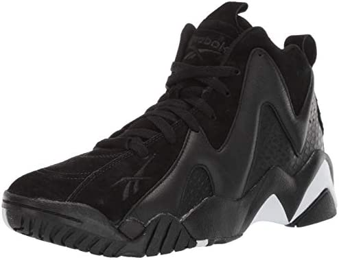 Reebok black and white shoes | Reebok Men's Kamikaze II Low