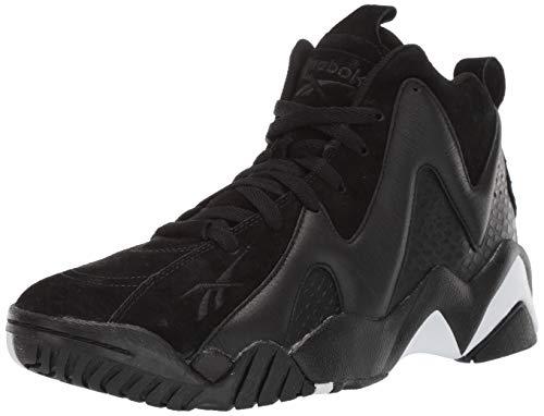 Reebok Men's Kamikaze Ii ATL-Lax Cross Trainer, Black/White, 8 M - Cross Shoe Training Mid