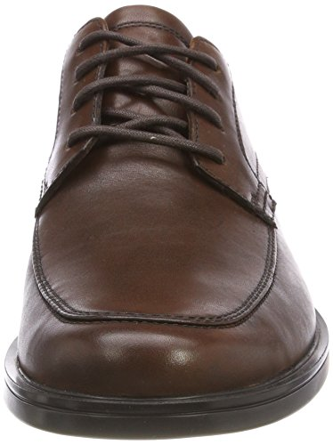 Clarks Aldric Park, Scarpe Stringate Derby Uomo Marrone (Tan Leather -)
