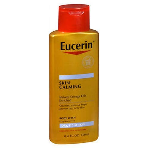 Eucerin Calming Body Wash 8.4-ounce Daily Shower