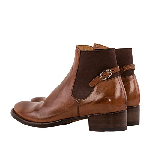 Ankle Donne Doillon011cuoio Marrone Boots In Officine Creative Pelle qF6Bfg7