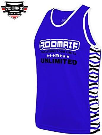 RVB-410 ROOMAIF d/ébardeur Boxe FR d/ébardeur pour Homme Sport de Boxe Muay Thai MMA
