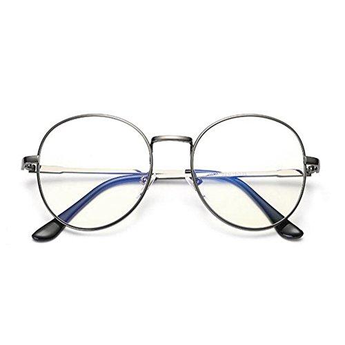 Claro Previniendo Pistola azul fatiga los Claro ojos Anti Gafas Computadora Anti Xinvision Moda luz UV Mujer Hombre Filtro Lente Lente de R0nTqw