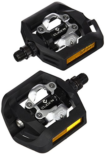 Cage Side Entry (Shimano PD-T421 Click'R Pedals (Certified Refurbished))