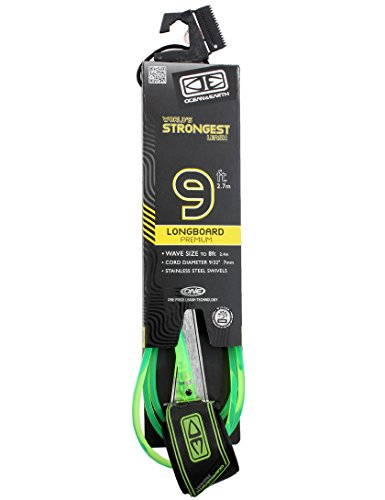 ocean-earth-longboard-premium-leash-green