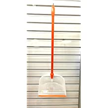 Uniware Foldable Plastic Handled Dust Pan Duck,Orange,Made in Italy
