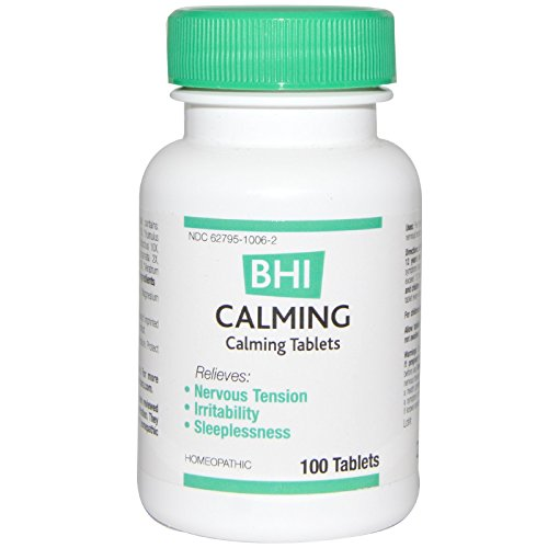 MediNatura, BHI, Calming, 100 Tablets - 2PC (100 Tablets Calming)