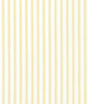 (Covington Woven Ticking Daffodil Fabric - by the Yard)