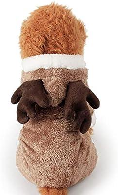 Disfraz de perro de ciervo de Navidad para cosplay, ropa de vestir ...