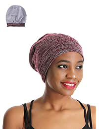 Enjoy Holiday 1981 Premium Sleep Cap Slap Beanie Hat – Satin Silk Lined, Bamboo Outer