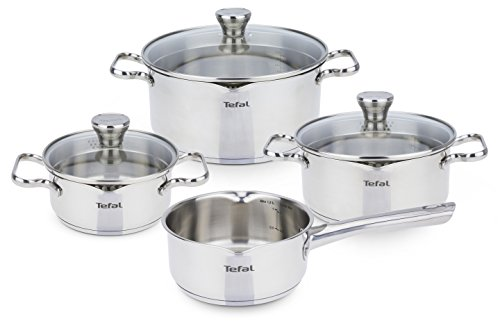 Tefal A705A8 Duetto Topfset 7-teilig, induktionsgeeignet