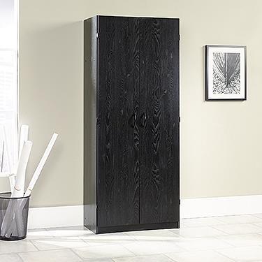 Sauder Storage Cabinet - Ebony Ash by Sauder