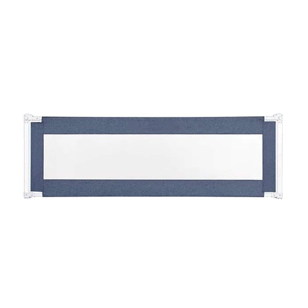 JY 縦の上昇の青い特大ベッドの柵の赤ん坊の落下抵抗の保護塀、枕元の柵150-200cmの幼児子供のバッフル (サイズ さいず : 200cm) 200cm  B07MFHD8KD