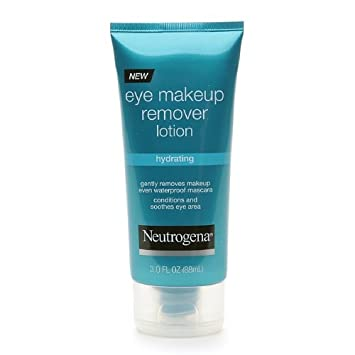 Neutrogena Hydrating Eye Makeup Remover Lotion-3 oz Pack of 4