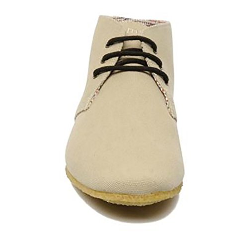 Schmoove - Creps Desert Canvas, Chaussures montantes homme - Beige (Sable/Taupe)