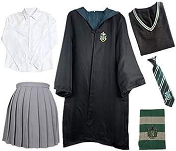 O.AMBW Niños Adultos Disfraz de Capa para Harry Potter, Traje de ...