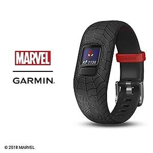 Garmin 010-01909-37 vivofit jr. 2, Spider-Man, Black