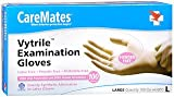 Caremates Vytrile-PF Disposable Medical Exam Gloves Latex + Powder Free Large - 100ct, Pack of 3