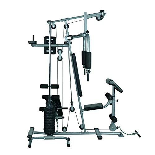 Alitop Deluxe Home Gym Fitness Exercise Machine Weight Stack Black by Alitop