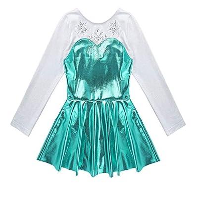 CHICTRY Kids Girls Princess Ballet Dance Leotard Dress Fancy Ballerina Costumes: Clothing