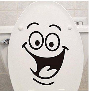 ABCMOS Adesivo Adesivi murali Sedile WC per bagno Cucina Soggiorno Wc Sofa Background