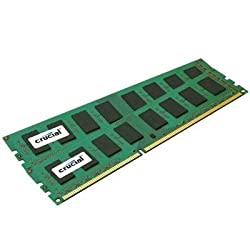 Crucial 4gb Kit (2gbx2) Ddr3 1333 Mts (Pc3-10600) Cl9 Unbuffered Udimm 240-pin Desktop Memory Modules Ct2cp25664ba1339