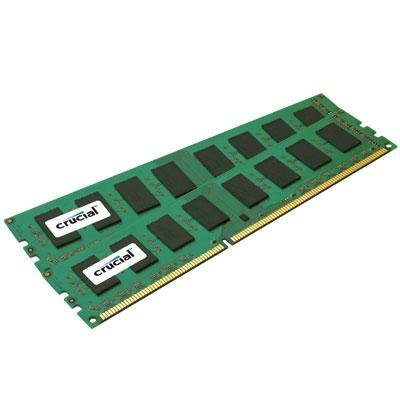 (Crucial 4GB Kit (2GBx2) DDR3 1333 MT/s (PC3-10600) CL9 Unbuffered UDIMM 240-Pin Desktop Memory Modules CT2CP25664BA1339)