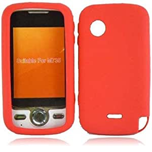 Compatible with Huawei M735 Silicone Skin Cover - Red