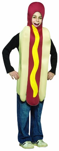 Rasta Imposta Lightweight Hot Dog Childrens Costume, 7-10, Multicolor]()