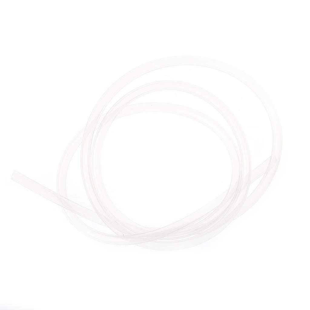 Transl/úcido JOYKK Tubo de Silicona 1M Tubo transl/úcido Grado alimenticio No t/óxico Rubbe 3x5mm