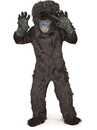 Gorilla Costume Feet (Gorilla Child Costume Small (4-6))