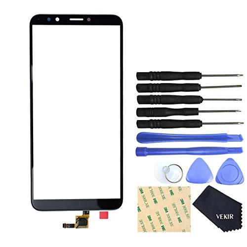 Vidrio De Frente Tactil Para Huawei Y7 2018 Negro