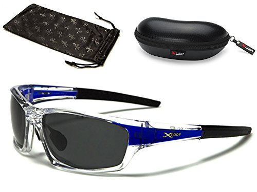 Polarized Wrap Around Fishing Driving Cycling Golf Sunglasses - Clear & - Cheap Men Best For Sunglasses