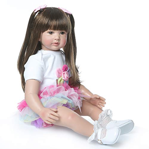 ZQDoll Toddler Reborn Dolls Girl...
