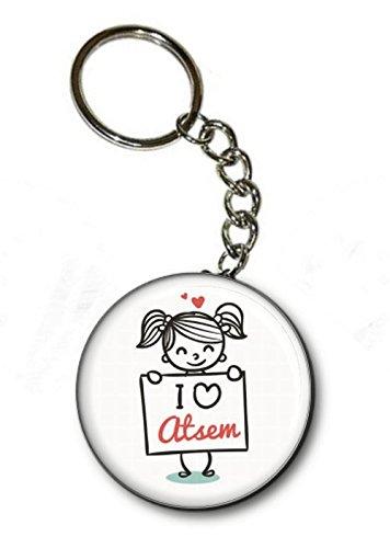 Clé Atsem I Porte Love Angora 6A8qx