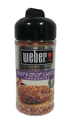 Weber Bold'N Spicy Chipotle Seasoning 5oz (Pack of 8)