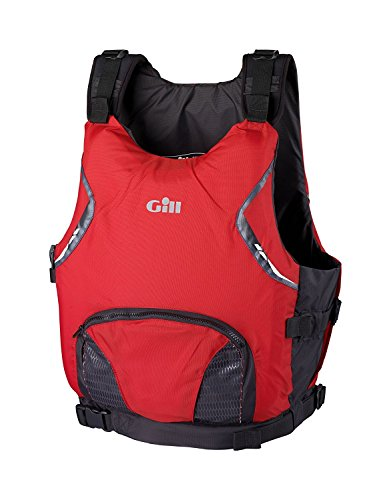 Gill USCG Approved Side Zip PFD Red M/L