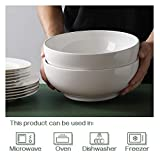 "DOWAN 9.5"" Large Serving Bowls, 2.8 Quart Big Salad"
