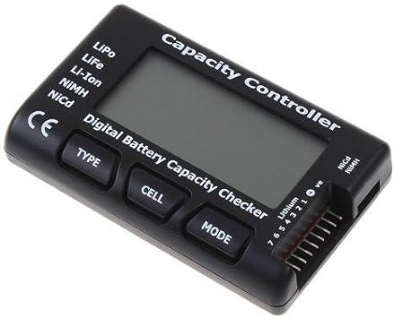 Opinión sobre YUNIQUE GREEN-CLEAN-POWER- Espana CellMeter-7 Digital Bateria Capacidad Detector LiPo Life Li-Ion NiMH Nicd, Color Negro (Yunique 57-94DI-DHHL)