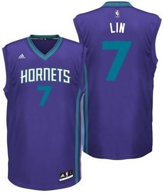 new style 10e9b 11fb9 Charlotte Hornets Road Replica Jersey - Jeremy Lin - Mens ...