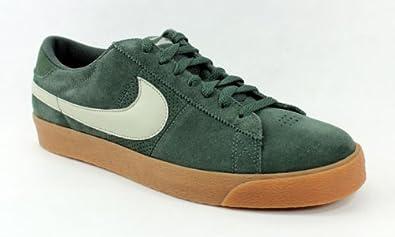 b09f50f6d10a9 Amazon.com | Nike Blazer Low SB Mens Skate Shoes (Fern/Stone) 9 ...