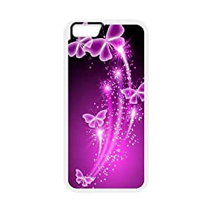 Butterfly Print iPhone 6 4.7 Inch Cell Phone Case White K2758057