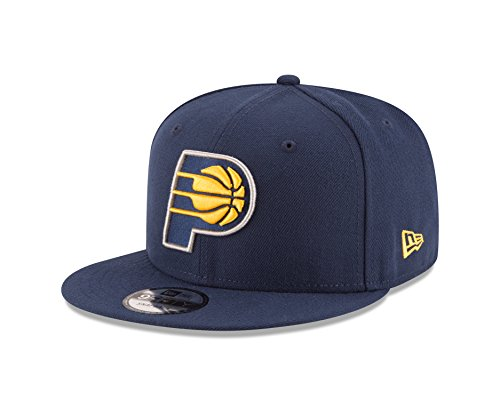 Indiana Pacers Cap - NBA Indiana Pacers Men's 9Fifty Team Color Basic Snapback Cap, One Size, Navy