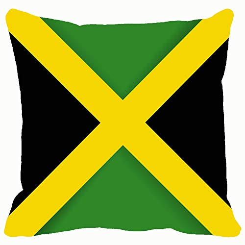 - Throw Pillow Covers Jamaica Flag Objects Cotton Linen Cushion Cover Cases Pillowcases Sofa Home Decor 18