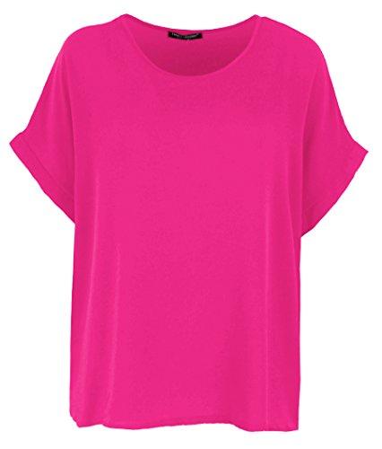 Donna Fucsia T shirt top Giovanni amp; Emma wgCFn