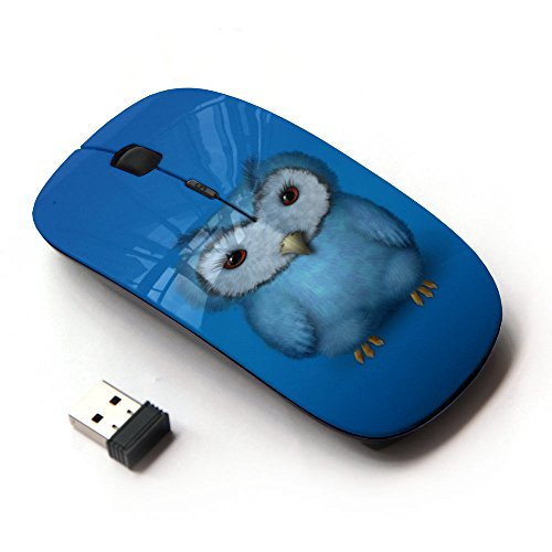 07ab8940844 60%OFF KawaiiMouse [ Optical 2.4G Wireless Mouse ] The Blue Owl ...