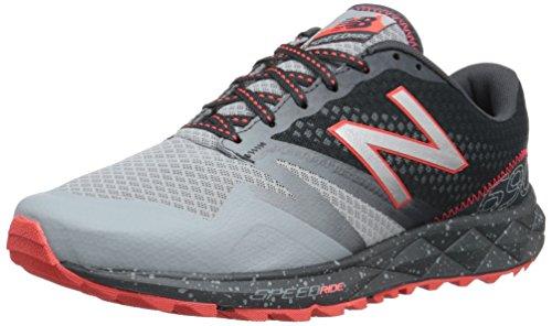 details for big discount 100% genuine New Balance Men's MT690V1 Trail Shoe, Grey/Flame, 9 UK: Amazon.co ...