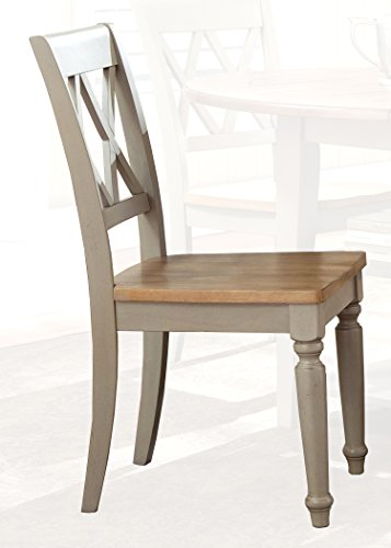 Liberty Furniture 541-C3000S Al Fresco Dining Double X Back Side Chair, 18